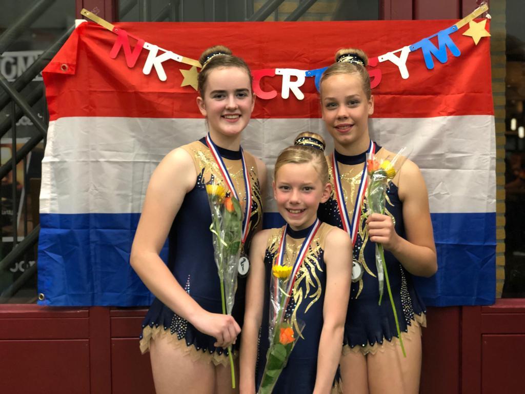 Nathalie Terpstra, Annyk de Vries enYvonne Talsma